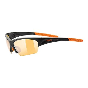 Okulary Uvex Sunsation black mat orange