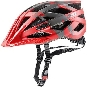 Kask rowerowy Uvex I-VO CC  RED-DARK SILVER MAT 56-60 cm 2017
