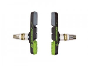 KLOCKI 3 PANELOWE V-BRAKE MERIDA GREEN BRAKE