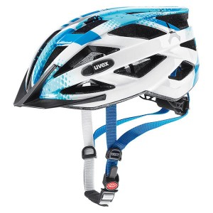 Kask rowerowy Uvex Air Wing blue-white 52-57 cm