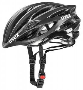 KASK UVEX REACE 1 BLACK MAT SHINY 55-59