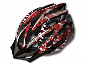 KASK MERIDA RAPTOR BLACK-RED S