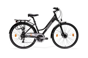 Rower trekkingowy MERIDA FREEWAY 9200 DISC LADY, 40CM, SEMIMATT BLACK/GREY