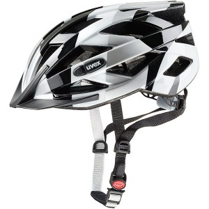 Kask rowerowy Uvex Air Wing black- white 52-57 cm