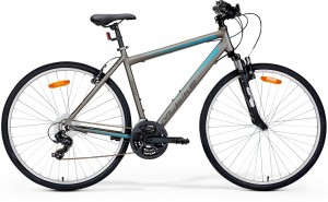 Rower crossowy Merida M-BIKE CROSS 5-V S/M(48) GREY/BLUE) 2018