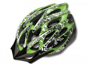 KASK MERIDA RAPTOR GREEN-GREY S